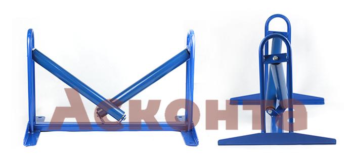Общий вид направляющего кабельного ролика РКН700