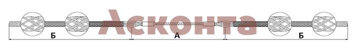 Размеры двойного чулка КЧД29