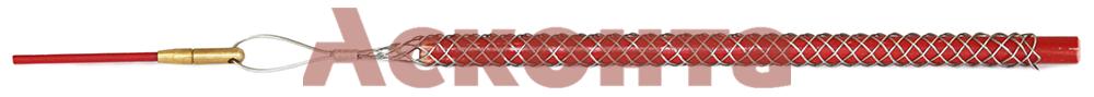Применение кабельного чулка КЧЛ12/М5 с петлей и наконечником
