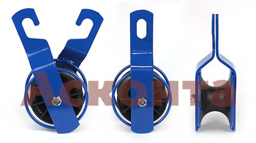 РМ-1/50 Ролик монтажный для СИП ⌀ до 50мм, 1 пластиковый диск