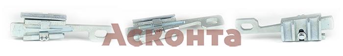 МКЗ-1 Монтажный клиновой зажим для провода АС 5,1-9,6мм