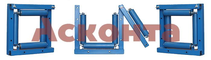 РКН4/200 Ролик направляющий с 4мя валиками Квадрат для кабеля ⌀ до 200мм