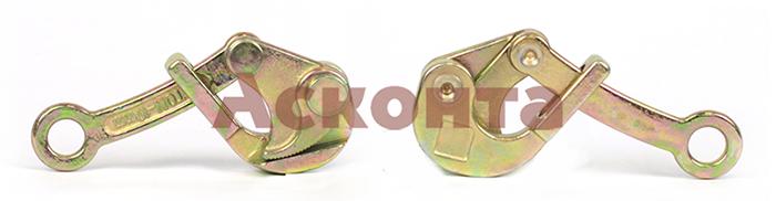 МЗЛ-10 Монтажный зажим «лягушка» 1,0-10,0мм, 500кг