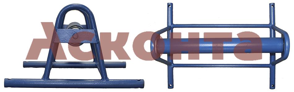 РКШ600 Прямой широкий кабельный ролик, ширина 600мм