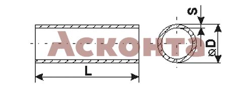 36077 ТУТ 8/4 Термоусадочная трубка, синяя, рулон 100м ПЕРЕДОВИК