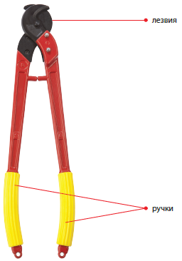 05102 Ножницы кабельные НК-40М