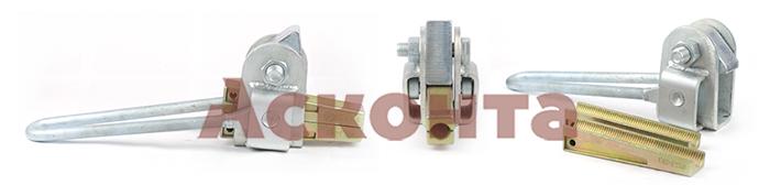 МК-4 кл.1 Монтажный клиновой зажим для провода АС 27,3-29,1мм
