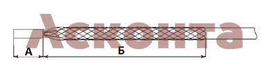 Размеры кабельного чулка МЧ12/М6