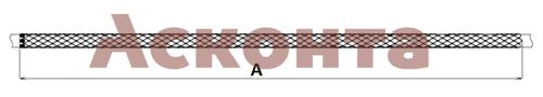 Размеры кабельного чулка КЧТ95