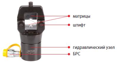 02002 Пресс гидравлический ПГ-400+ 16-400мм²