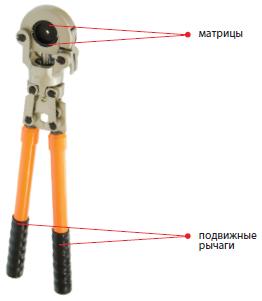 03101 Пресс-клещи механические ПК-300М 16-300мм²