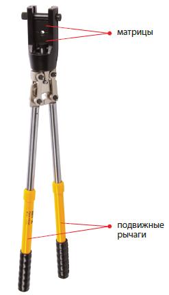 03012 Пресс-клещи механические ПК-240М 16-240мм²