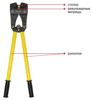 03003 Пресс-клещи механические ПК-120 16-120мм²