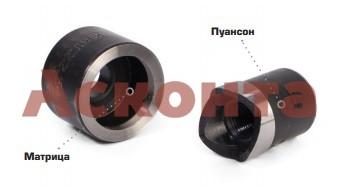 НМПО-116 Набор из 4 перфоформ для пробивки отверстий больших диаметров КВТ