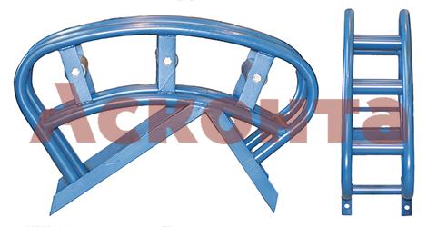 Общий вид углового направляющего кабельного ролика РНУ3/120