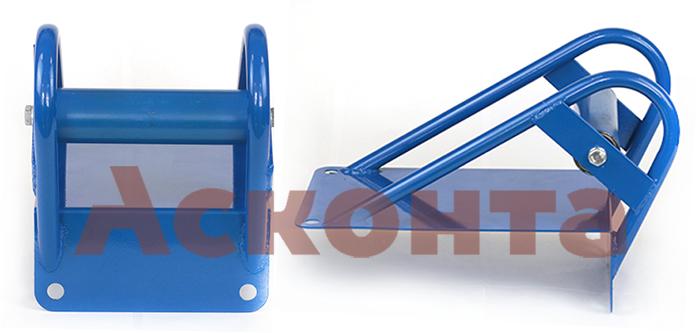РКН1/120 Ролик на кромку кабельного колодца для кабеля ⌀ до 120мм