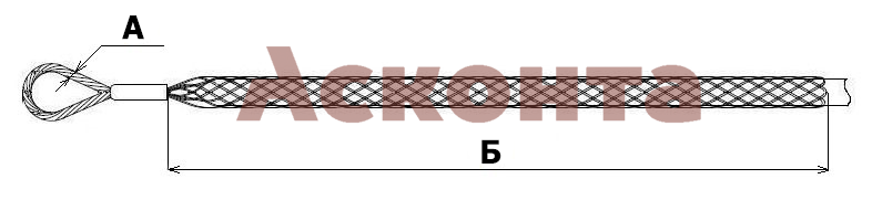 Размеры монтажного чулка ЧМ40
