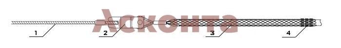 Краткий порядок использования монтажного чулка ЧМ40