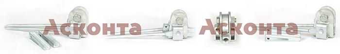 МК-3 кл.2 Монтажный клиновой зажим для провода АС 21,6-25,2мм