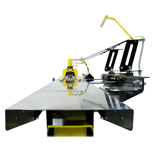 21022 Линия полуавтоматическая ЛПА-6РШ для резки шины с шинорезом и маслостанцией