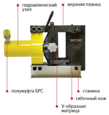 02008 Шиногиб гидравлический ШГ-150+