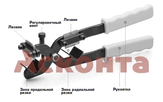 КСП-30 Инструмент для снятия изоляции кабеля 15-30мм из сшитого полиэтилена КВТ